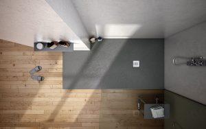 Black shower tray