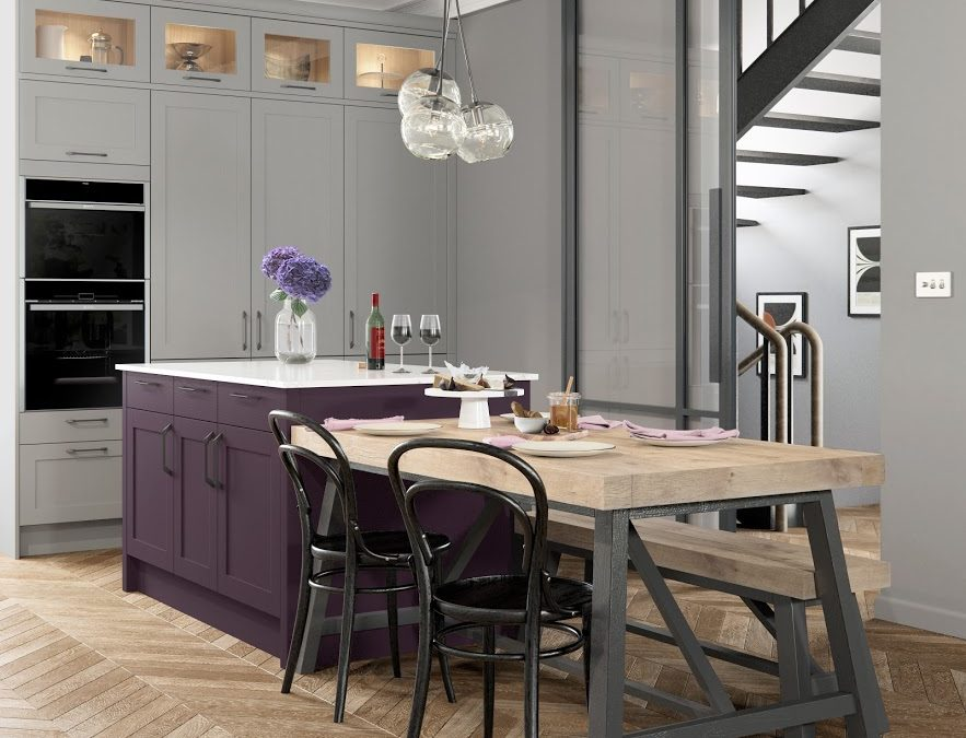 Traditional kitchen design with a Modern Twist