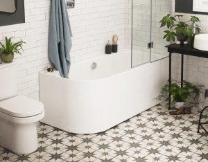Space saver baths