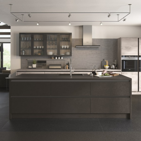 handleless kitchen derby