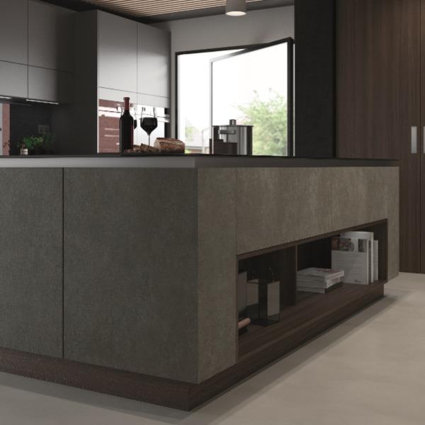 modrn handleless kitchen